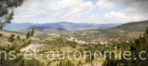 Village Eourres Hautes Alpes sens et autonomie LESA
